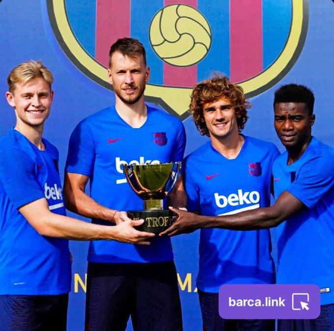 برشلونة يهزم أرسنال ويتوج بكأس خوان غامبر الودية