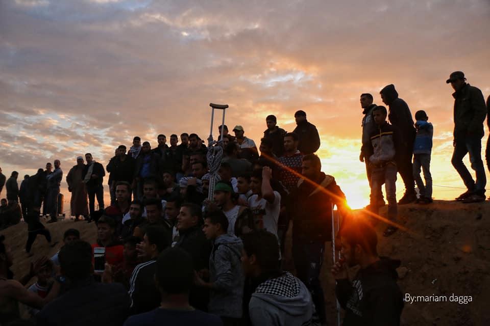 إصابة 40 فلسطينياً برصاص الاحتلال على حدود غزة