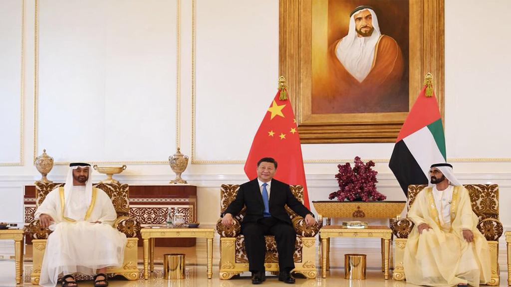 في ختام زيارة بينغ.. اتفاق إماراتي صيني على تأسيس شراكة استراتيجية شاملة