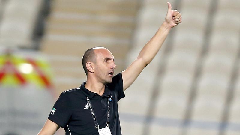 مدرب بني ياس: نسعى للفوز بجميع مباريات بطولة الخليج