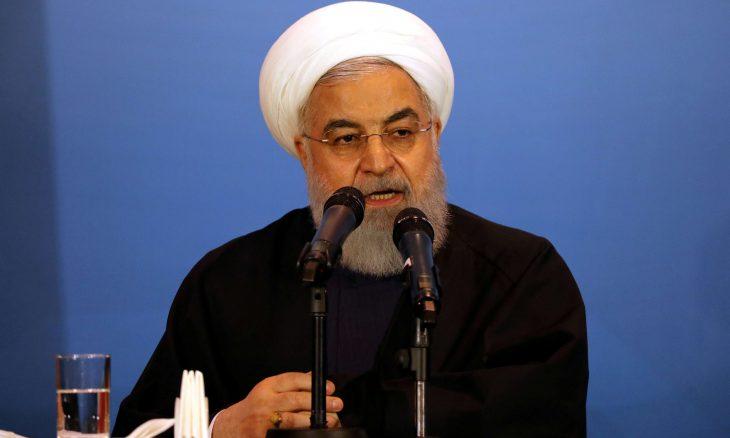 روحاني : إيران مستعدة للحوار مع واشنطن إذا رفعت العقوبات