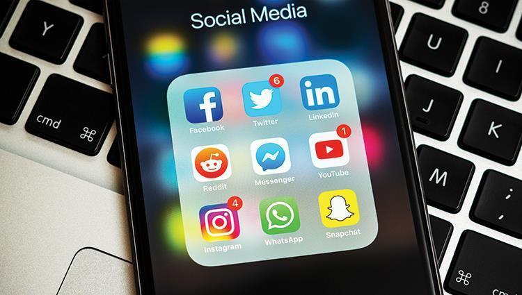 21 مليون حساب على مواقع التواصل الاجتماعي في الإمارات
