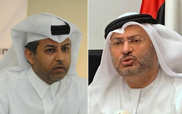 دبلوماسي قطري يوجه انتقادات لاذعة لقرقاش
