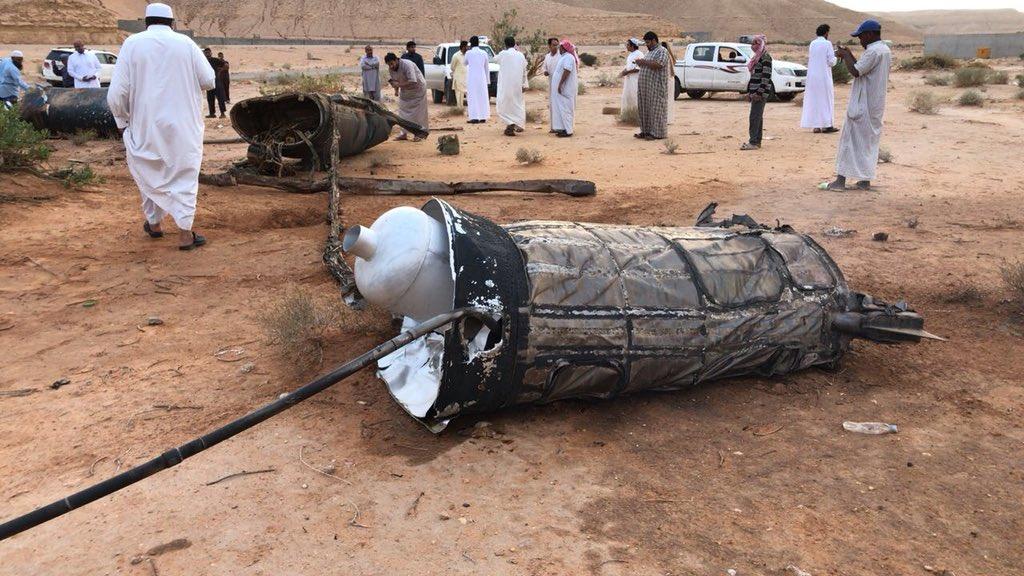 التحالف يعلن اعتراض صاروخين بالستيين على خميس مشيط بالسعودية