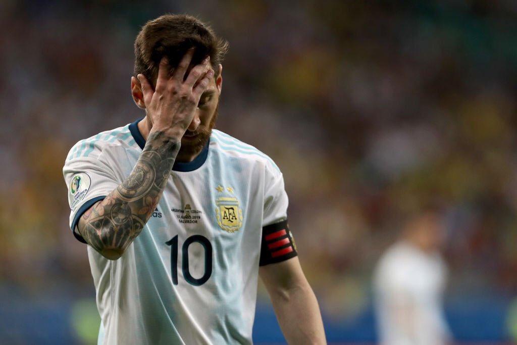الأرجنتين تسقط أمام كولومبيا بـ كوبا أمريكا
