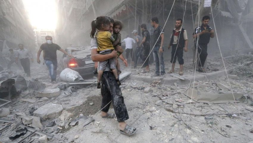 تقرير أممي: ضربات أمريكا وروسيا والنظام السوري قد تصل لجرائم الحرب