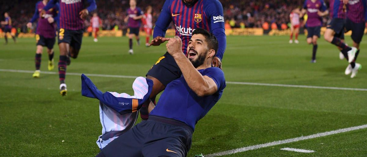 برشلونة يضع يده على الليغا بفوز شاق على الأتلتيكو