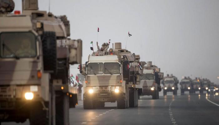 الجيش اليمني يتسلم مواقع في شمال شرق حضرموت من القوات الإماراتية