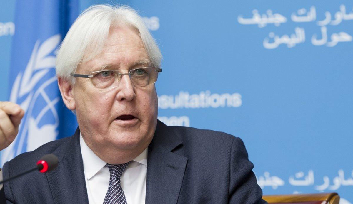 غوتيريش يؤكد للرئيس اليمني ثقته في مارتن غريفيث