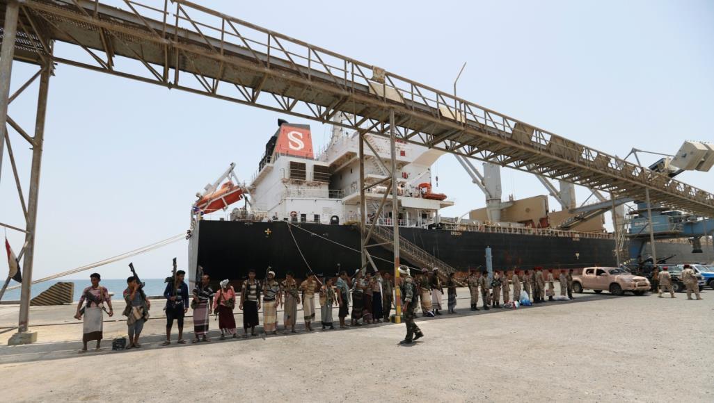 الأمم المتحدة: اليوم الأول لانسحاب الحوثيين من موانئ يمنية سار وفق الخطط الموضوعة