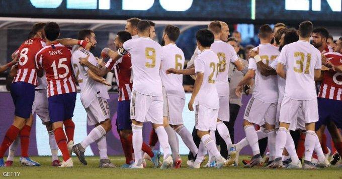 ريال مدريد يتعرض لخسارة مذلة من اتلتيكو مدريد