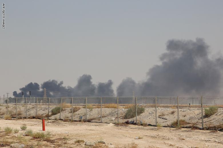 التحالف: الهجوم على أرامكو  تم بأسلحة إيرانية من خارج اليمن