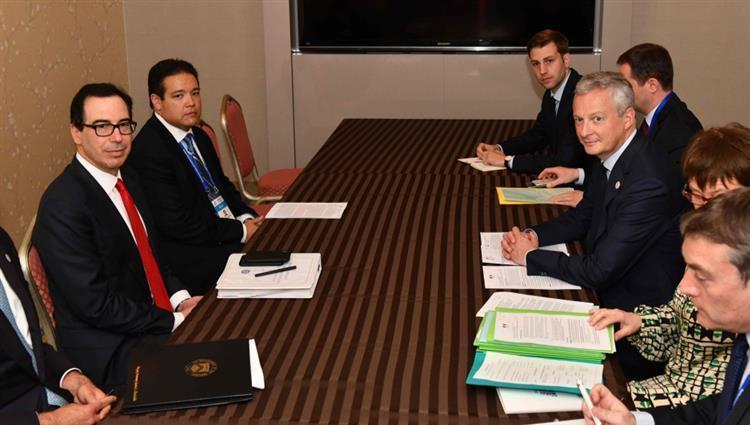 وزراء مالية مجموعة العشرين يبحثون التجارة والنظام الضريبي العالمي