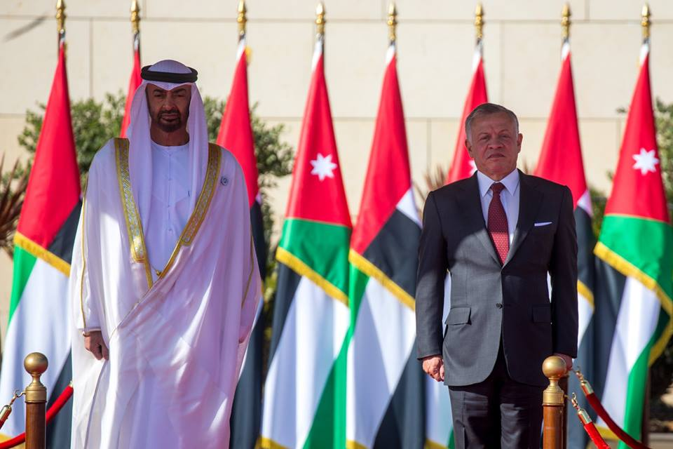 في زيارة غير محددة.. عاهل الأردن يحضر في أبوظبي تمريناً عسكرياً مشتركاً