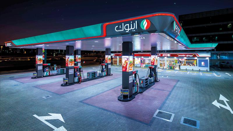 تعمل بالطاقة الشمسية.. «إينوك» تفتتح 5 محطات جديدة في دبي