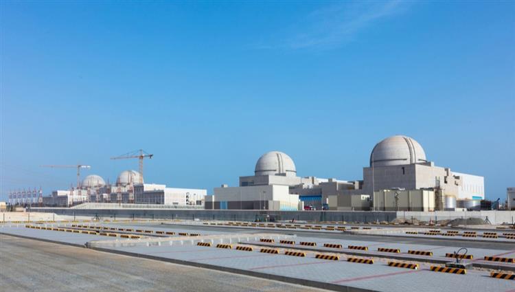 تشغيل محولات الطاقة الرئيسية والاحتياطية للمحطة الثالثة في براكة