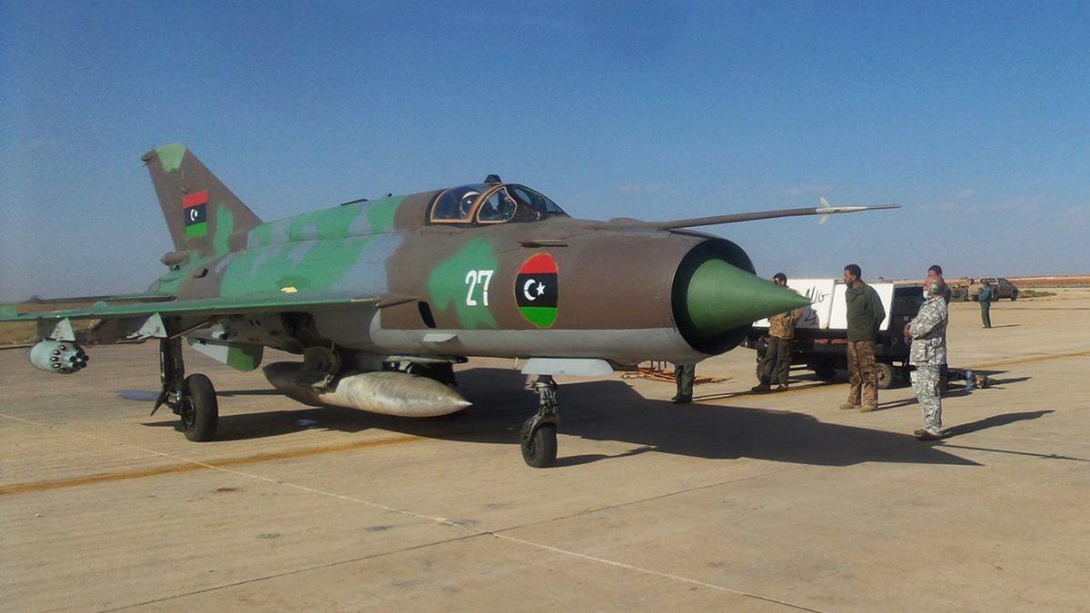الوفاق الليبية تعلن فقدان الاتصال بطائرة حربية.. وقوات حفتر تعلن إسقاطها