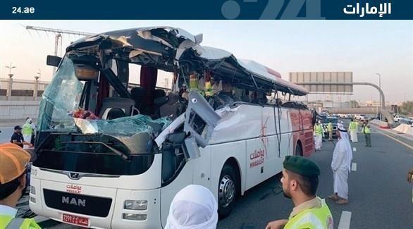 إحالة سائق عماني تسبب بوفاة 17 راكباً للمحاكمة في دبي