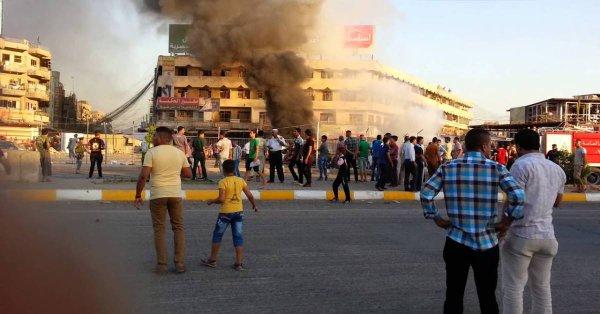 واشنطن تؤكد عدم إصابة أي أمريكي في استهداف الحي الدبلوماسي ببغداد