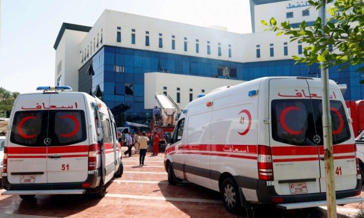 """ليبيا: قوات """"الوفاق"""" تتهم طائرات إماراتية بقصف سيارة إسعاف جنوب طرابلس"""