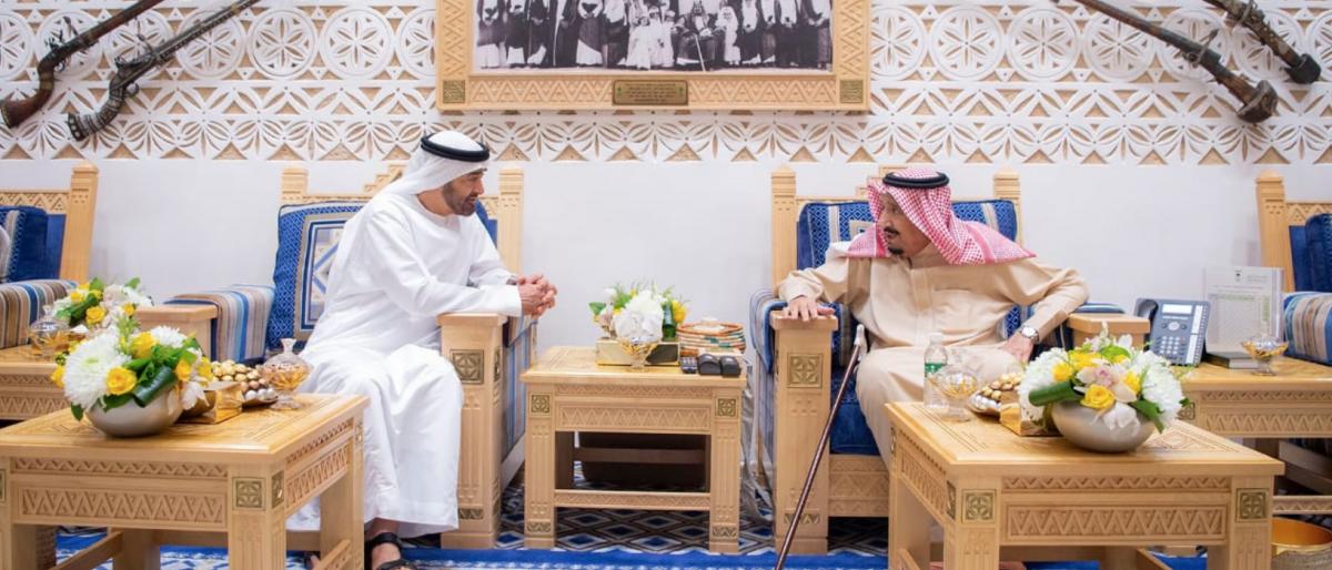 محمد بن زايد في الرياض.. لكن أين ابن سلمان؟