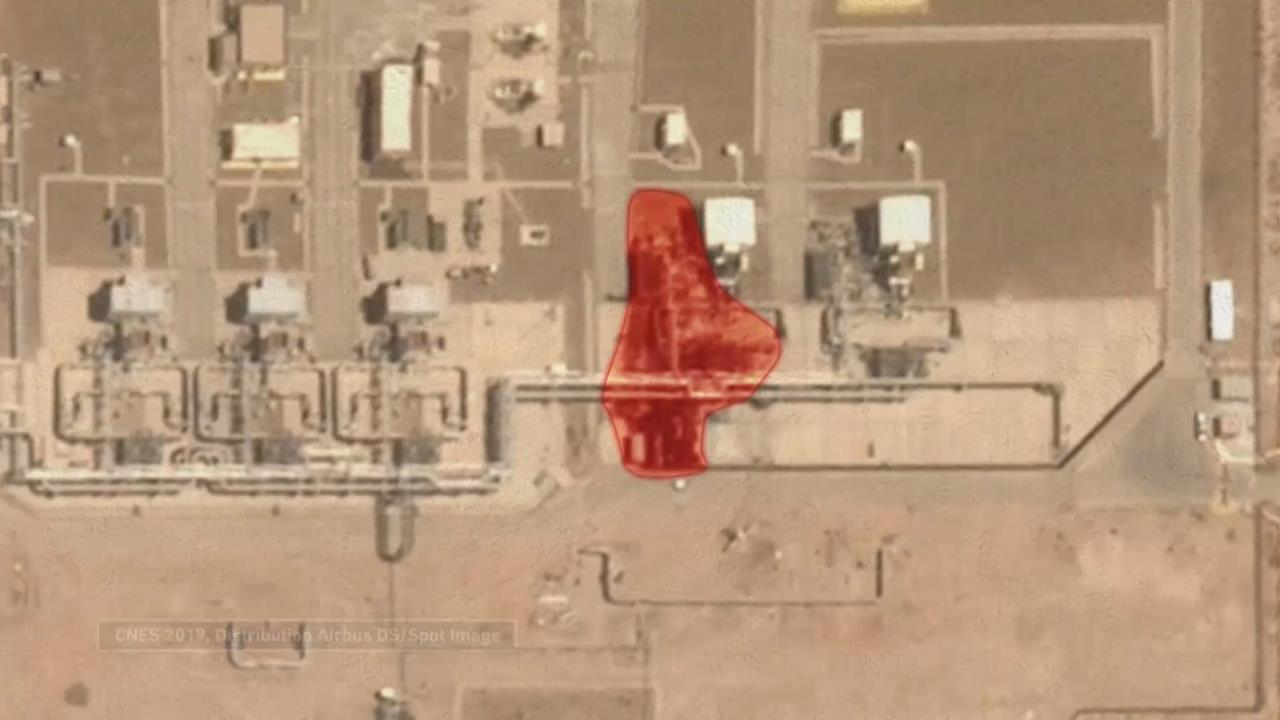 صور تظهر استهداف الحوثيين أنبوب نفط سعودي بدقة ومباشرة