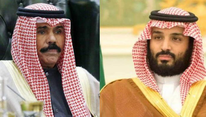 موقع استخباراتي بن سلمان يضغط على أمير الكويت الجديد بشأن الوساطة الخليجية