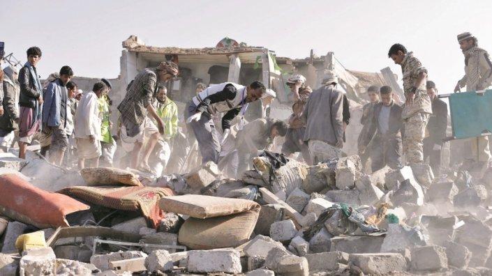 إيران تتهم السعودية بقصف سوق شعبي في صعدة اليمنية