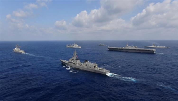مناورات أميركية آسيوية غير مسبوقة تمتد إلى بحر الصين الجنوبي