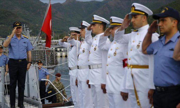 مئات الطائرات والسفن الحربية تنفذ أكبر مناورة بحرية في تاريخ تركيا