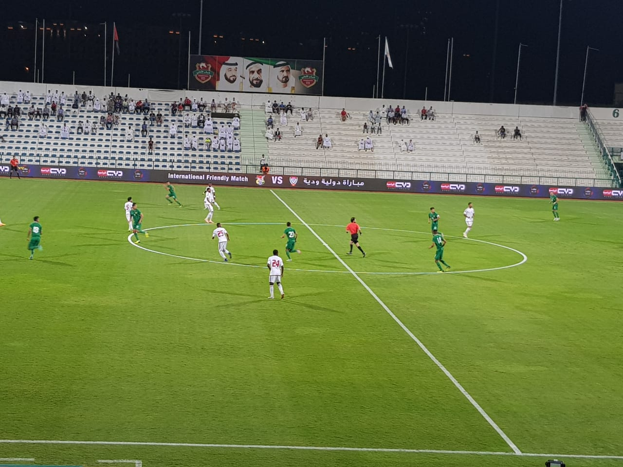 منتخبنا الوطني يتعادل مع نظيره البوليفي بدون أهداف