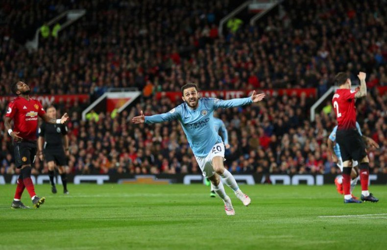سيتي يحسم ديربي مانشستر ويقترب من لقب الدوري الإنجليزي