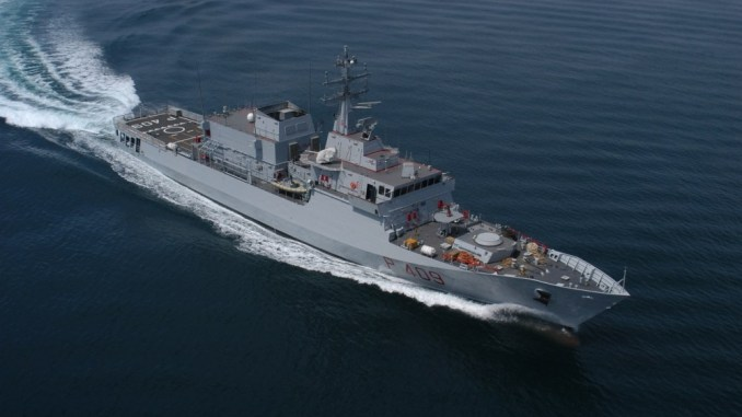 توقيع اتفاقية عسكرية بين ليوناردو الإيطالية وأبوظبي لبناء السفن
