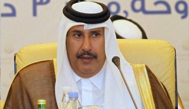 بن جاسم يطالب الرياض وأبوظبي بتفسير الاستعانة بقوات أجنبية .. وقرقاش يرد