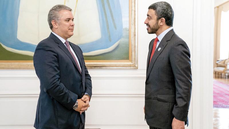 افتتاح سفارة الدولة في كولمبيا وإعفاء متبادل للتأشيرات