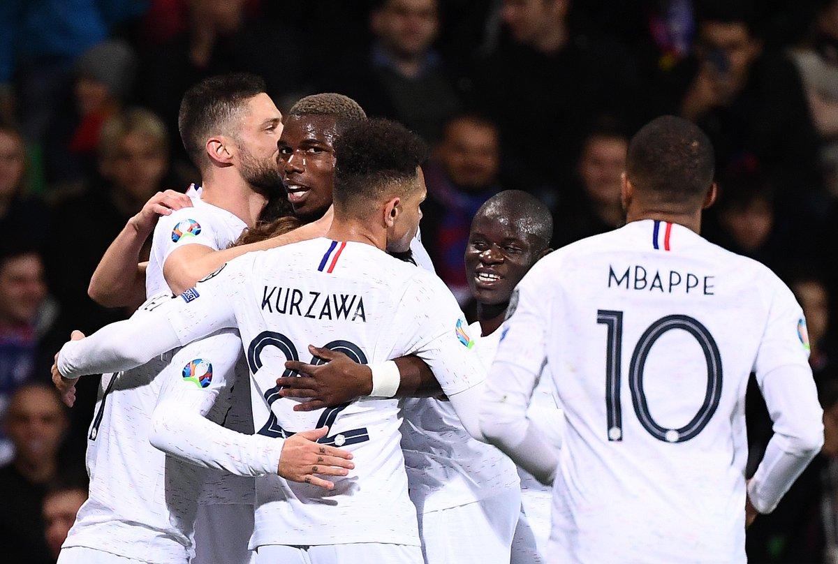 فوز تركيا وفرنسا وآيسلندا بتصفيات وتعادل للبرتغال والكاميرون