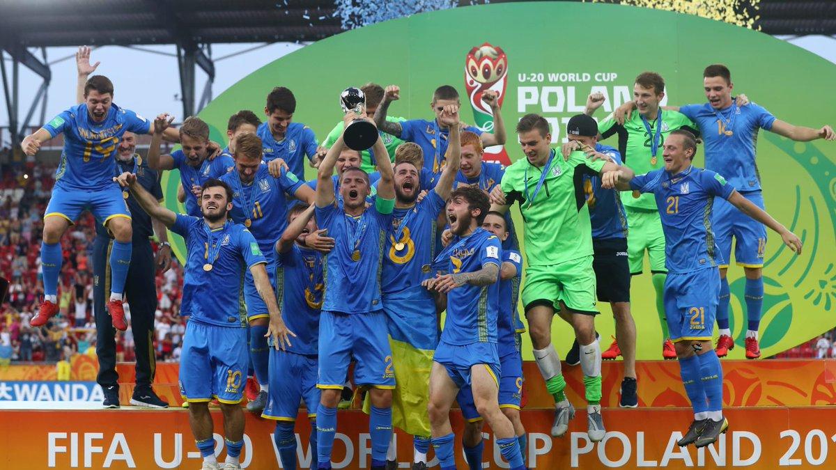 أوكرانيا تتوج بكأس العالم للشباب للمرة الأولى في تاريخها
