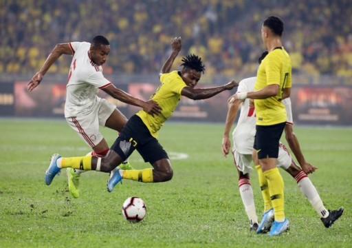 الأبيض يستهل مشواره إلى كأس العالم 2022 بالفوز على ماليزيا