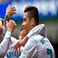 رونالدو ينقذ فريقه ريال مدريد ويمنح فوزا صعباً على مضيفه إيبار