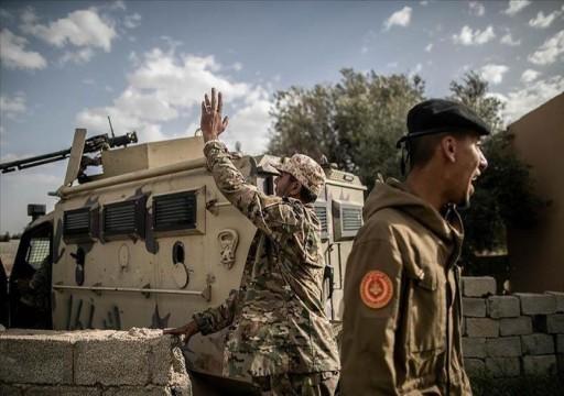 """""""الجيش الليبي"""" يلقي القبض على عناصر بمليشيا تابعة لحفتر"""