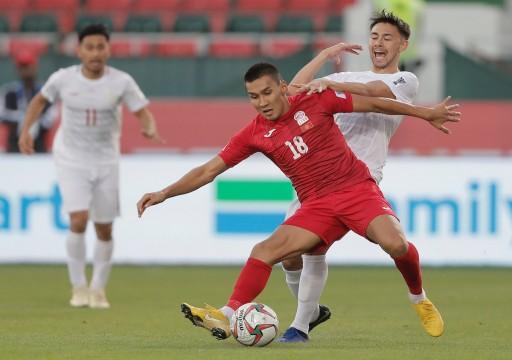 قيرغيزستان تبقي على آمالها في التأهل لثمن نهائي كأس آسيا