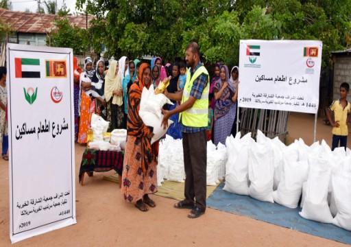 الشارقة الخيرية: أكثرمن 10 آلاف أسرة تستفيد من مشروع إطعام الطعام
