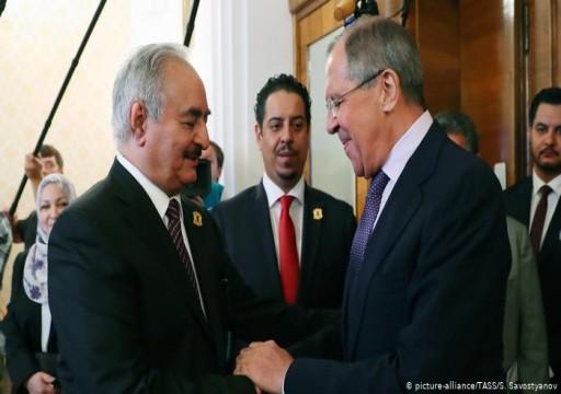 """ليبيا.. واشنطن تتهم موسكو بطباعة أوراق نقدية """"مزورة"""" لحفتر"""