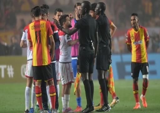 الترجي التونسي بطلاً لدوري أبطال أفريقيا في مباراة لم تكتمل