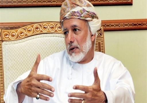 وزير عماني يقول إن أمريكا تسعى لتهدئة التوتر مع إيران