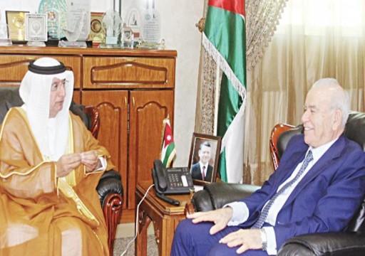 سفير الدولة لدى الأردن يلتقي وزير التربية والتعليم ورئيس هيئة الأركان