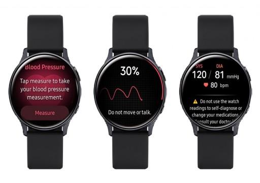 سامسونج تدعم رسمياً تطبيق قياس ضغط الدم في ساعتها
