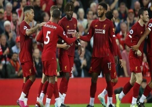 ليفربول يفتتح الدوري الإنجليزي بالفوز على نورويتش سيتي
