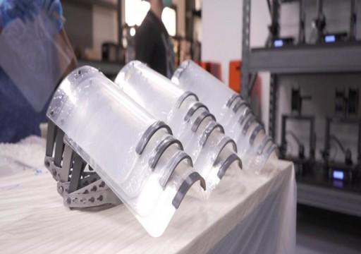 دبي.. تصنيع أقنعة واقية بتقنية الطباعة ثلاثية الأبعاد