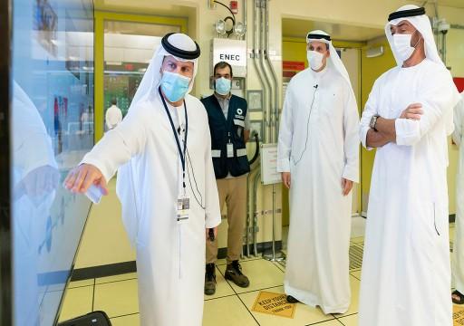 """محمد بن زايد: """"براكة"""" تعزّز الدور الريادي للإمارات في قطاع الطاقة الصديقة للبيئة"""